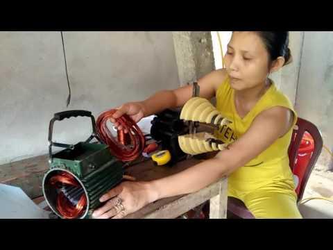 sửa  chữa   quấn cuộn dây máy bơm nước bảo long