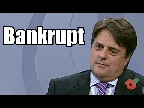 NICK GRIFFIN IS BANKRUPT