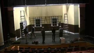 Time Lapse of set construction