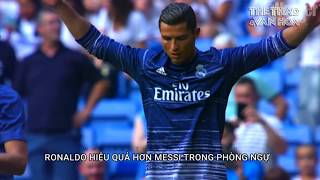 5 điểm Cristiano Ronaldo hơn Messi