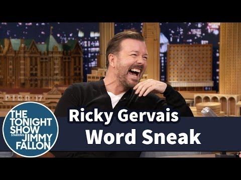 Word Sneak with Ricky Gervais