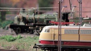 Modelleisenbahn im Hara Model Railway Museum in Yokohama