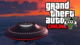 GTA 5 Glitches Get The Alien Spaceship UFO In GTA 5