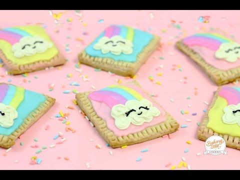 POP-TARTS DE ARCOIRIS (KAWAII) - BAKING DAY