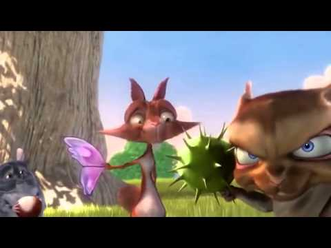 Phim hoạt hình 3D BIG BUCK BUNNY thỏ và sóc nâu cực hay!