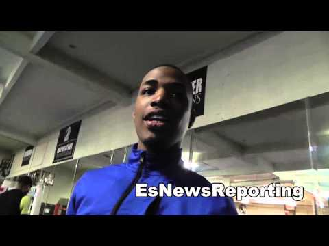 Daquan Mays of Team USA Boxing at Mayweather Boxing Club - EsNews Boxing