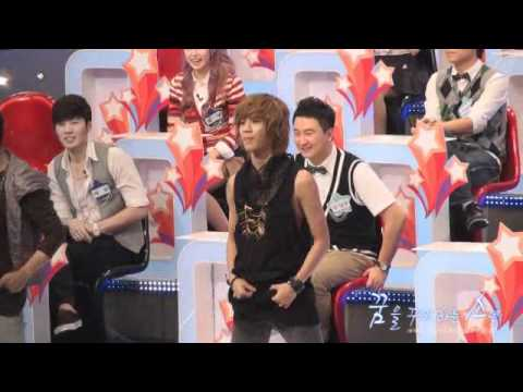 100823 Taemin dance to Lucifer @ $ recording fancam, credit as tagged/ PLS DO NOT RE-UPLOAD ANYWHERE ELSE I'm sorry if i deleted your comment, but please don't mention the show's name, The program is called $@...