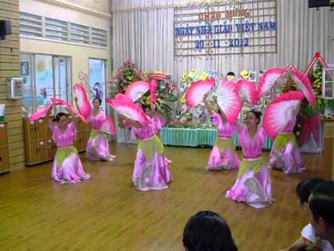 Múa Việt Nam Gấm Hoa khối Lá trường MNTT Hạnh Phúc Quận Thủ Đức
