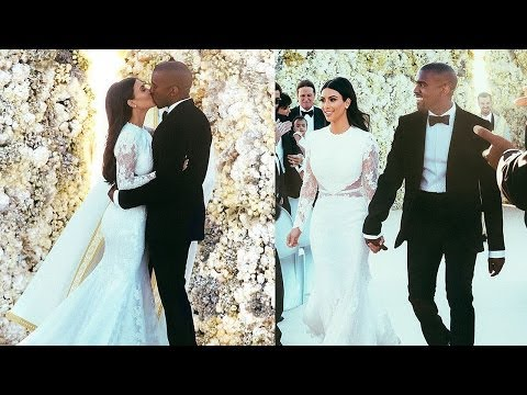 Kim Kardashian & Kanye West Wedding Photos!