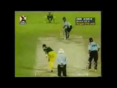 Sachin Tendulkar's 143 against Australia at Sharjah, 1998