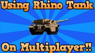 GTA 5 Online Tank Gameplay: Stealing Someones Tank On GTA V (25 Year Old Rager) Rhino Tank Gameplay