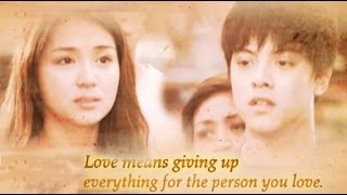 GOT TO BELIEVE : Love means giving up everything for the person you love.