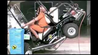 CLUB CAR Villager Crash Tests 2014 AutoMotoTV