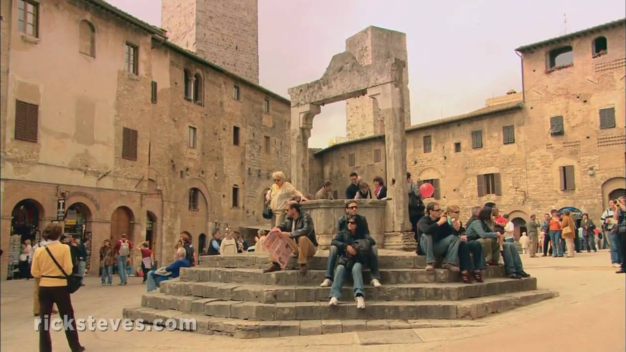 San Gimignano Italy Towering Hill Town Youtube