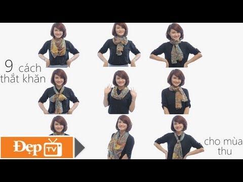 9 cách thắt khăn đẹp và phong cách cho ngày thu - Le Media JSC [Official]
