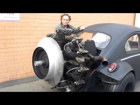 Radial Engine Start Up Volkswagen