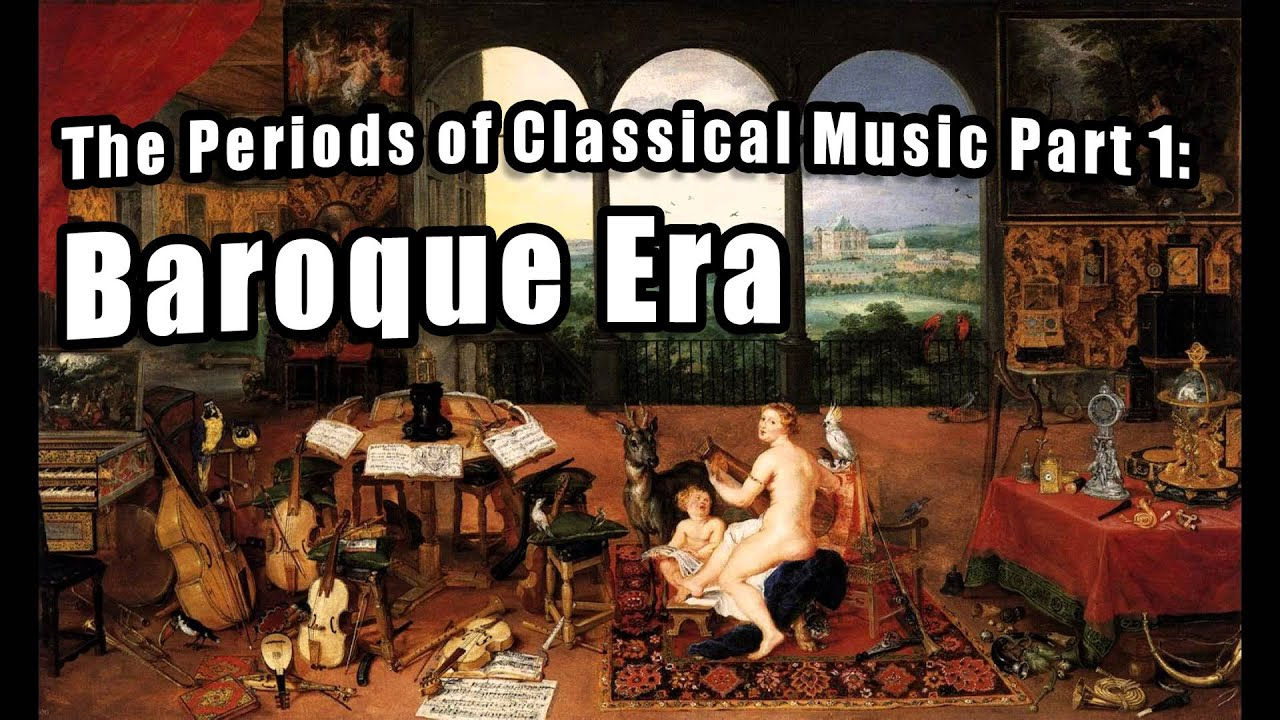 comparing the classical and baroque eras Baroque music is a period or style of western art music composed from  approximately 1600 to 1760 this era followed the renaissance music era, and  was followed in turn by the classical era baroque music forms a major portion of  the classical music canon, and is  technical analysis rather than comparative  abstractions, in order to avoid the.