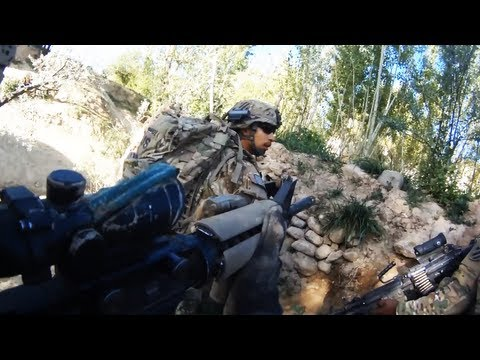 Taliban Ambush In Complex Terrain