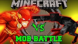 ALIEN VS THE FLASH Minecraft Mod Battle Mob Battles