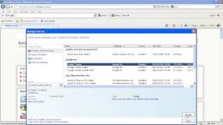 Eliminar Extensiones En Internet Explorer