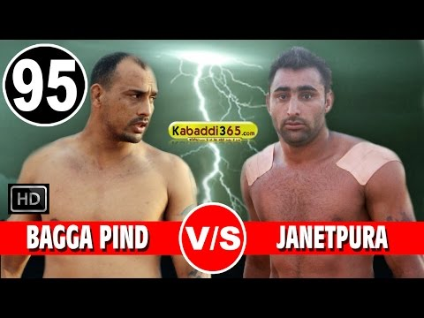 Bagga Pind Vs Janetpura Best Match in Raikot (Ludhiana) By Kabaddi365.com