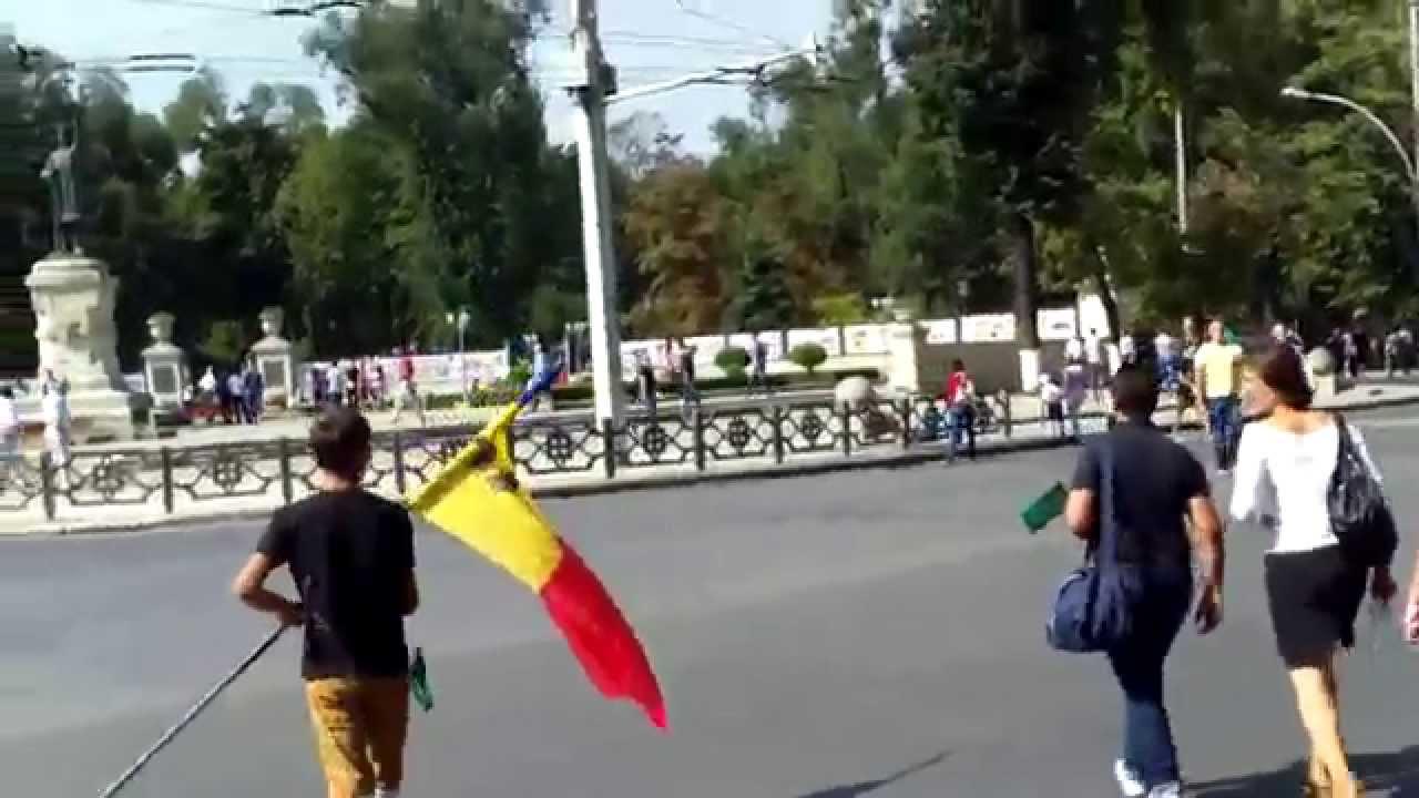 Manifestanții plecau în timpul discursului lui #Filat