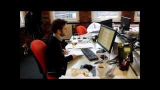 MA student Spencer Powell on hs work placement at Coda Planning Consultants - video