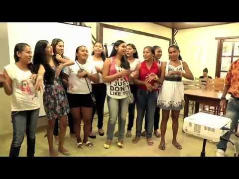 Jovens Empreendedores do Tapajós - A chegada no curso