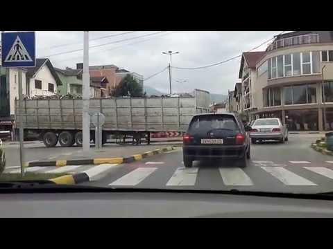 Камион во Гостивар на раскрсница си ја заборавил приколката