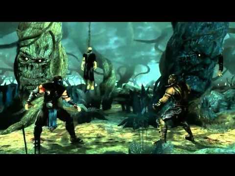 MK9 Sub-Zero vs Scorpion MK9 Gameplay Mortal Kombat 2011 MK9 720p HD!