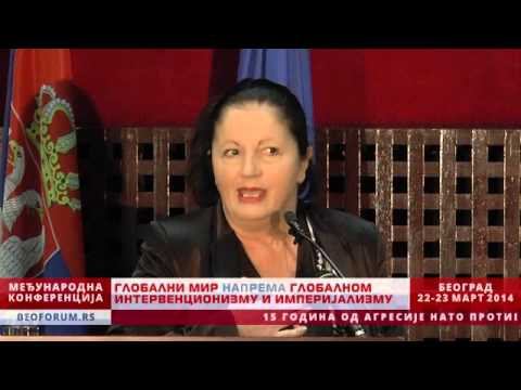 MILICA AREŽINA (SERBIA) - (Global Peace vs. Global Interventionism and Imperialism)
