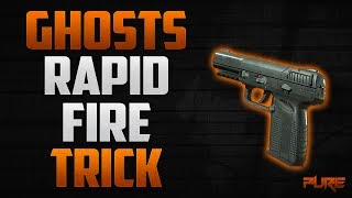 Call Of Duty Ghosts: Rapid Fire Gun Trick (COD Ghosts