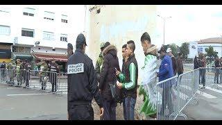 بالفيديو..تعزيزات أمنية مكثفة ساعات قبل إنطلاق الديربي البيضاوي بدونور |
