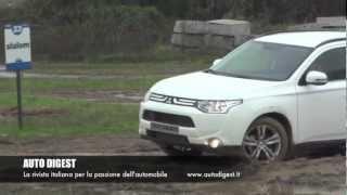 Mitsubishi Outlander 2013: Mud And Road Test