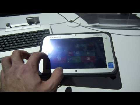 Panasonic FZ-M1 Rugged Windows 8 Tablet im Hands On [Deutsch]
