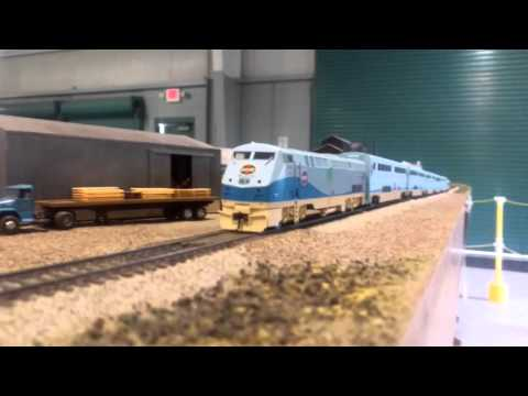 National Train Show NMRA Train 1-10-16