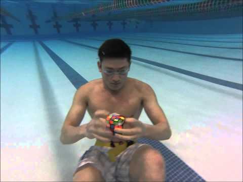 Rubikovka pod vodou! :-O