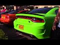 Dodge Charger Hellcat Insane Burnout & Accelerations