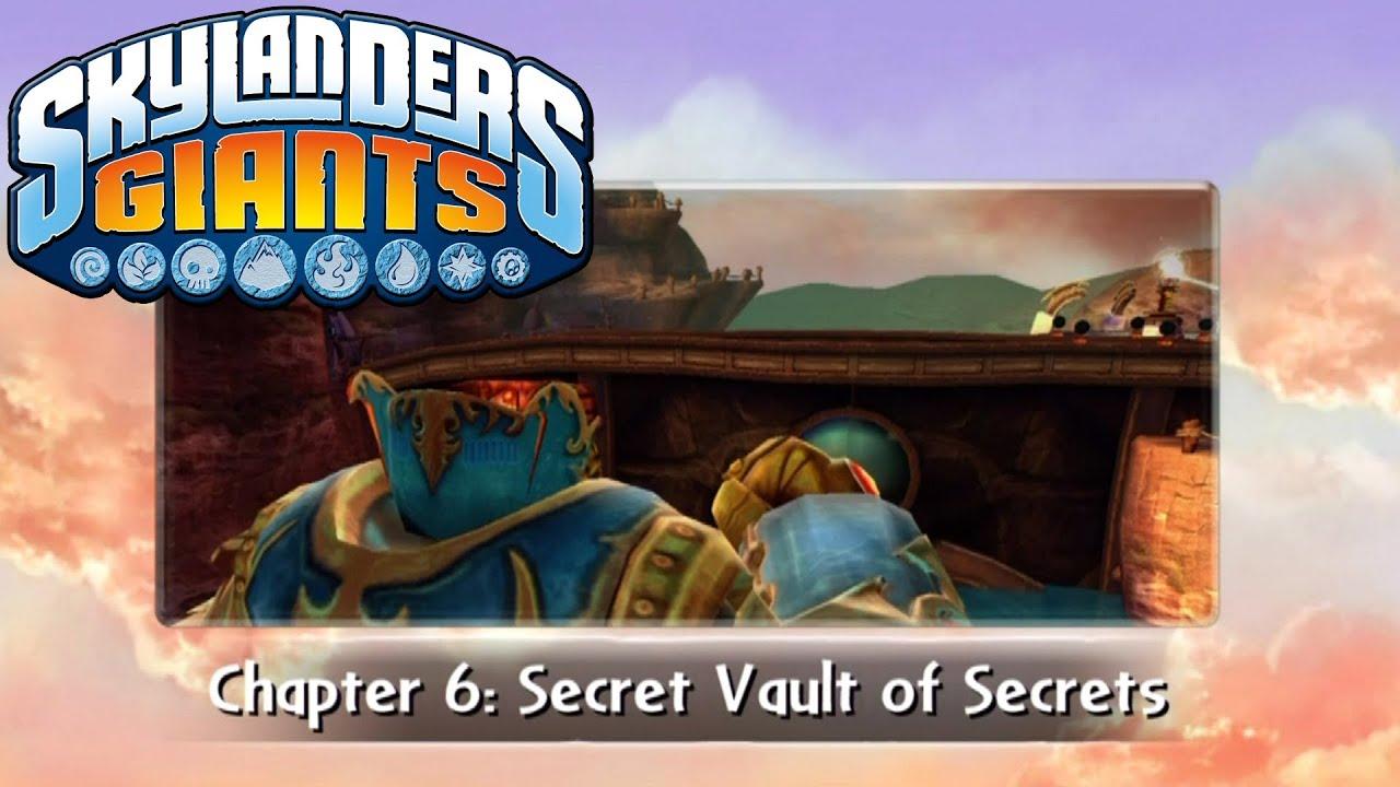 Skylanders giants 100 chapter 6 secret vault of for Vault of secrets