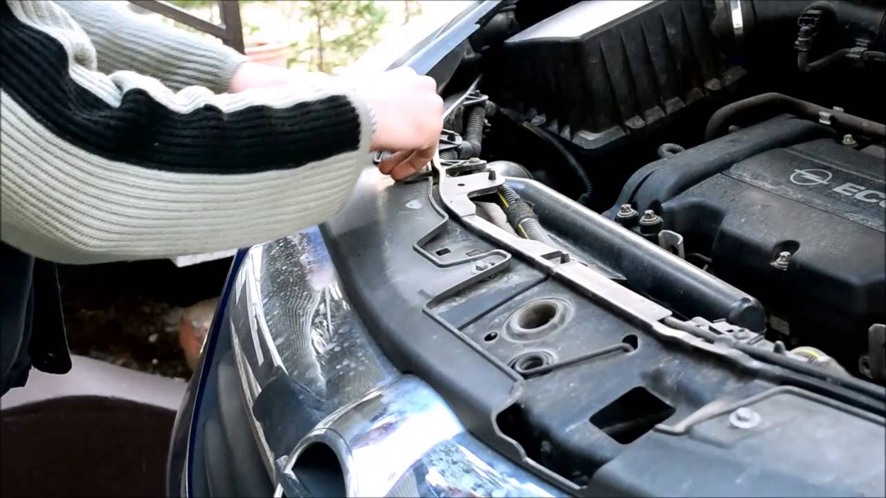 how to change vectra b bulb to xenon