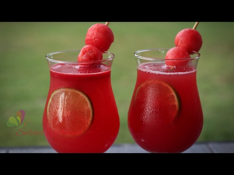 তরমুজের জুস || Watermelon Juice || Tasty Juice Recipe || Bangla Recipe || R# 170