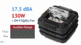 Zalman FX100 Ultimate Fanless CPU Cooler For Intel And AMD