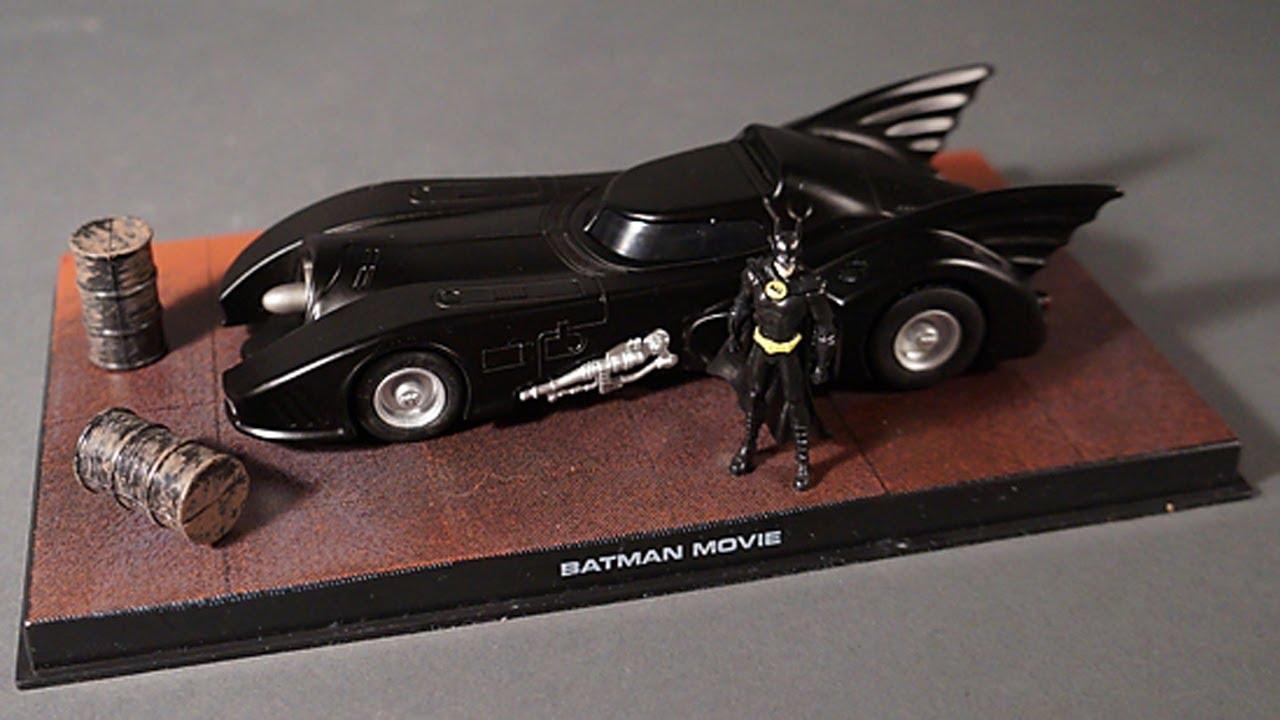 Eaglemoss 1989 Batmobile Diecast Batman Automobilia Vehicle Video ...