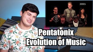 Vocal Coach Reaction to Pentatonix - Evolution of Music