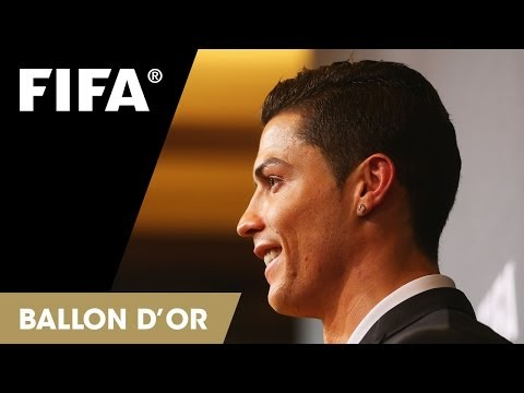 Cristiano Ronaldo on winning the FIFA Ballon d'Or (Portuguese)