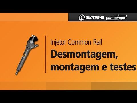 DOUTOR-IE Injetor Common Rail: Desmontagem, Montagem e Testes