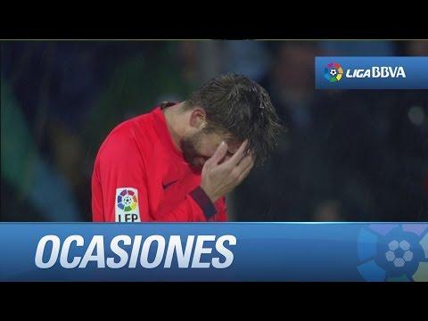 Todas las ocasiones de Getafe CF (0-0) FC Barcelona