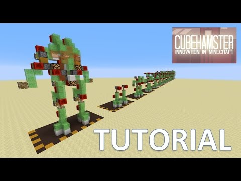 Minecraft Atlas Mech Robot Suit Tutorial for PC Xbox & Playstation (Improved)