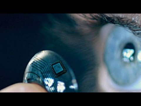 Google Contact Lenses Will Have a Camera Built In