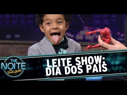 Leite Show: Crianças falam sobre o Dia dos Pais
